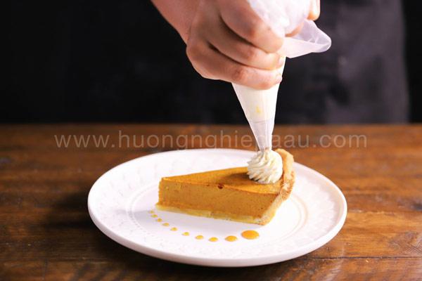 bánh pumpkin pie