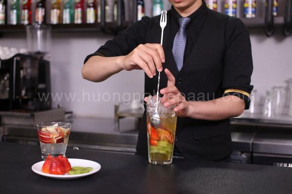 Bí kíp pha chế trà thảo mộc trái cây