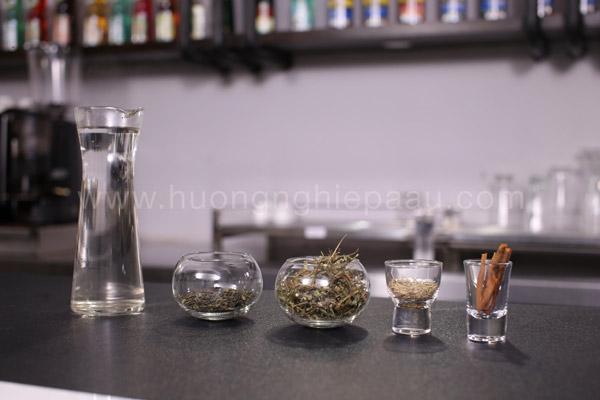 Các loại thảo mộc pha chế trà