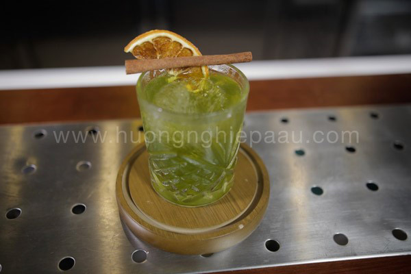 Cocktail Matcha Holic
