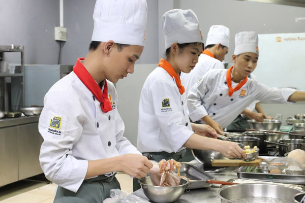 Học nghề đầu bếp ở đâu