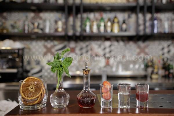 Nguyên liệu pha chế Cocktail American Nut Sour