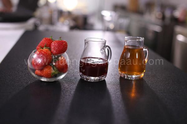 Nguyên liệu làm trà dâu tây Nam Mỹ