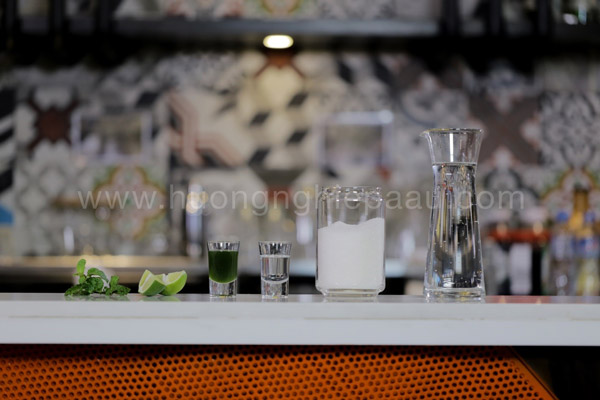 Nguyên liệu pha chế mojtio kiwi