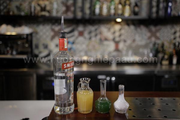 Nguyên liệu pha Cocktail Space Full