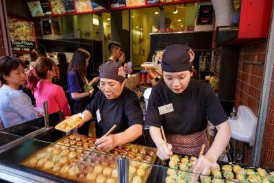Mở quán bánh bạch tuộc takoyaki