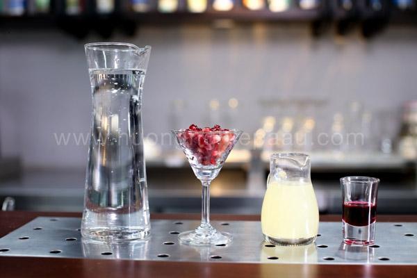 Nguyên liệu Mocktail Shirley Temple