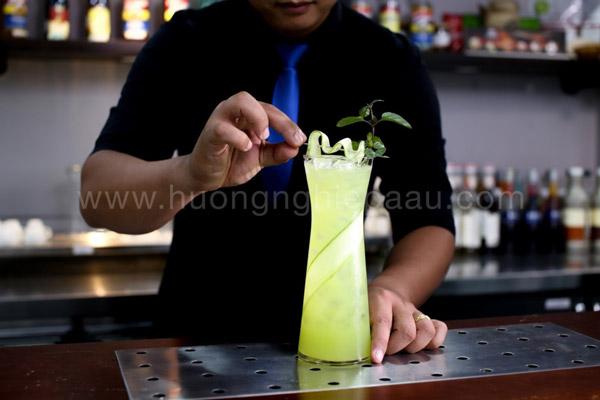 Trang trí cho thức uống thêm hấp dẫn