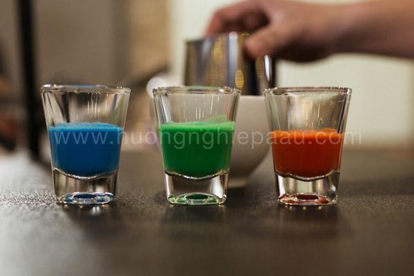 Nguyên liệu làm Rainbow Latte Art