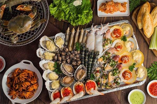 nguyên liệu kinh doanh quán nhậu hải sản