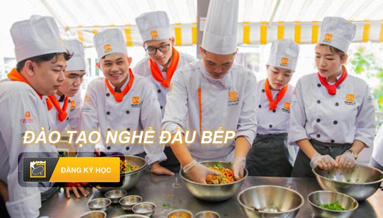 Khóa học nấu ăn tại Hội Đầu Bếp Á Âu