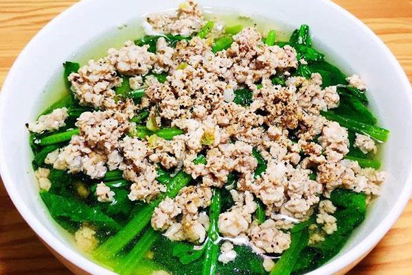 công dụng của rau spinach