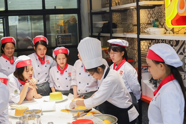 khóa học bánh Đài Loan